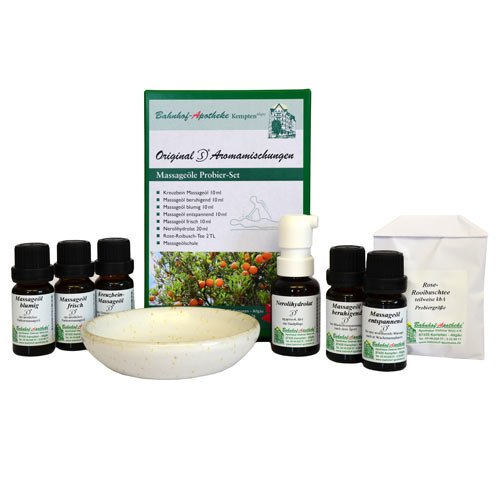 MASSAGEOELE PROBIER SET