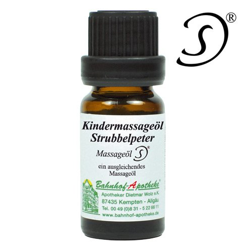 KINDERMASSAGEÖL STRUBBELPETER 10ml