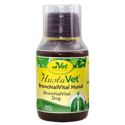 HustaVet BronchialVital Hund 100ml